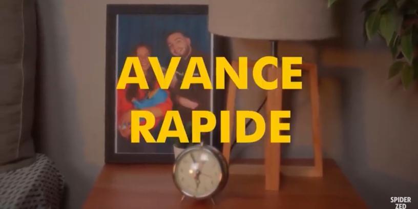Spider Zed - Avance Rapide